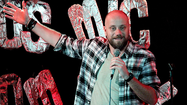 Comedy Tuk Tuk Stand-up Comedian Fedor Ikelaar