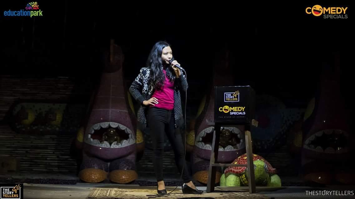 Rajina Shrestha - Comedy Tuk Tuk