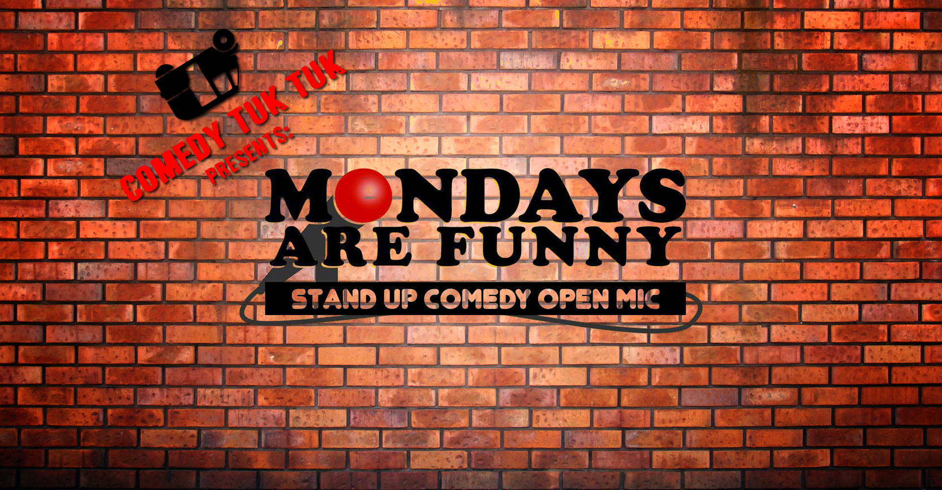 Mondays Are Funny Stand Up Comedy Open Mic